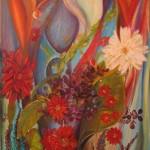 Love 30 x 40 oil on canvas by Larkin Green