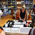 Patricia Larkin Green Lillstreet Art Center Sumi-e Demonstration